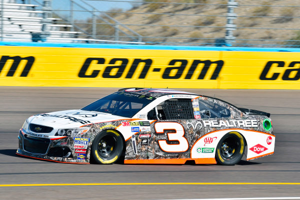 Monster Energy NASCAR Cup Series Can-Am 500 Phoenix Raceway, Avondale, AZ USA Friday 10 November 2017 Austin Dillon, Richard Childress Racing, Realtree Chevrolet SS World Copyright: Nigel Kinrade LAT Images