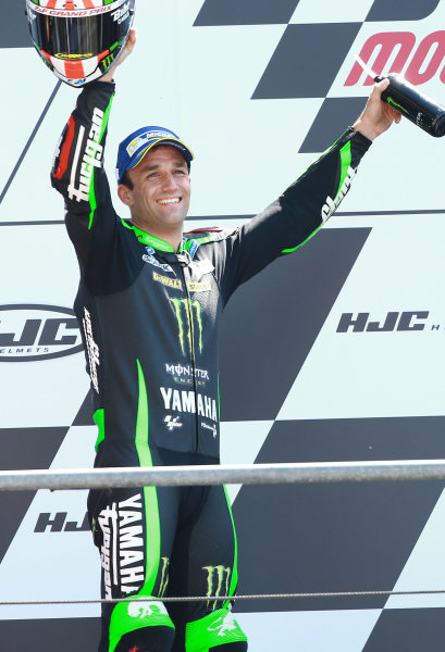 2017 MotoGP Championship - Round 5 Le Mans, France Sunday 21 May 2017 Second place Johann Zarco, Monster Yamaha Tech 3 World Copyright: Gold & Goose Photography/LAT Images ref: Digital Image 671742