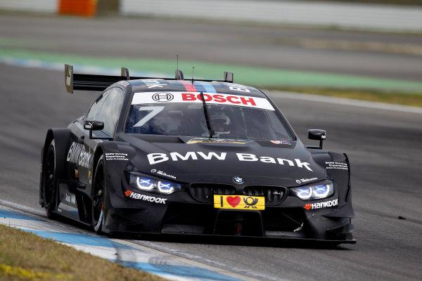 2017 DTM Testing & Media Day Hockenheim, Germany. Thursday 6 April 2017. Maxime Martin, BMW Team RBM, BMW M4 DTM. World Copyright: Alexander Trienitz/LAT Images ref: Digital Image 2017-DTM-MD-HH-AT2-0388