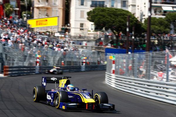 2017 FIA Formula 2 Round 3. Monte Carlo, Monaco. Saturday 27 May 2017. Oliver Rowland (GBR, DAMS)  Photo: Zak Mauger/FIA Formula 2. ref: Digital Image _X4I9540