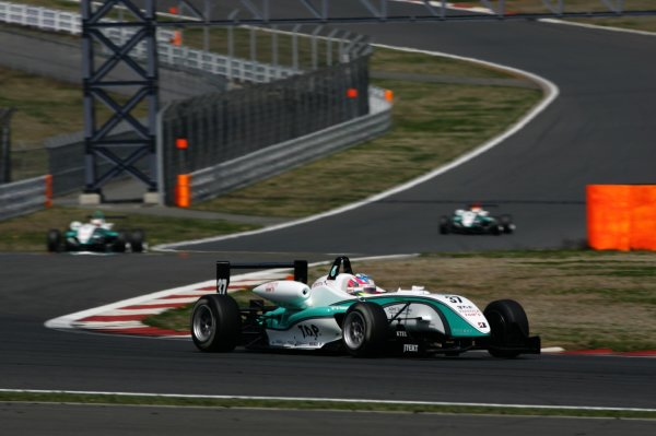 2008 Japanese Formula Three ChampionshipFuji Speedway, Japan. Rounds 1 & 25th - 6th April 2008.Round 2 winner - Takuto Iguchi (Petronas TOM's F308), 1st position. Action. World Copyright: Yasushi Ishihara / LAT Photographicref: Digital image 2008JF3_Rd2_002