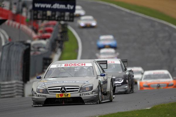 Bruno Spengler (CDN), Mercedes-Benz Bank AMG, Mercedes-Benz Bank AMG C-Klasse (2009), finished second.DTM, Rd7, Brands Hatch, England, 3-5 September 2010.World Copyright: LAT Photographicref: dne1005se184