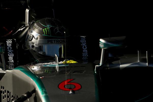 Nico Rosberg (GER) Mercedes AMG F1 W05. Formula One Testing, Jerez, Spain, Day Two, Wednesday 29 January 2014.