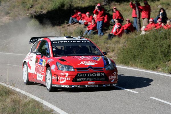 Round 11, Rally of Spain, Catalunya2nd-5th October 2008Urmo Aava, Citroen, actionWorldwide Copyright: McKlein/LAT