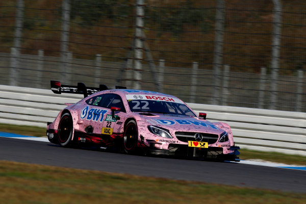 2017 DTM Round 9  Hockenheimring, Germany  Sunday 15 October 2017. Lucas Auer, Mercedes-AMG Team HWA, Mercedes-AMG C63 DTM  World Copyright: Alexander Trienitz/LAT Images ref: Digital Image 2017-DTM-HH2-AT3-1886