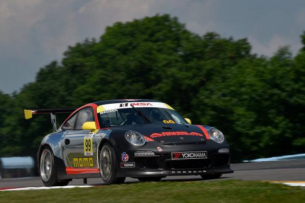 26-29 June, 2014, Watkins Glen, New York USA 99, Patrick-Otto Madsen, Gold, 2012 Porsche ?2014 Scott R LePage LAT Photo USA