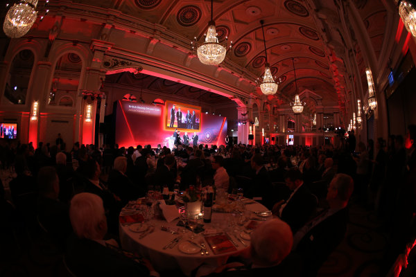 2015 British Racing Drivers Club Awards Grand Connaught Rooms, London Monday 7th December 2015 World Copyright: Jakob Ebrey/LAT Photographic ref: Digital Image Awards-04