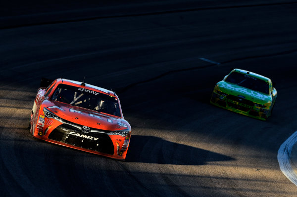 6-7 November, 2015, Fort Worth, Texas USA Daniel Suarez, Arris Toyota Camry (18) ?2015, John Harrelson / LAT Photo USA