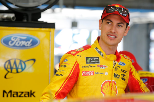 Monster Energy NASCAR Cup Series Monster Energy NASCAR All-Star Race Charlotte Motor Speedway, Concord, NC USA Friday 19 May 2017 Joey Logano, Team Penske, Shell Pennzoil Ford Fusion World Copyright: Matthew T. Thacker LAT Images ref: Digital Image 17CLT1mt1137