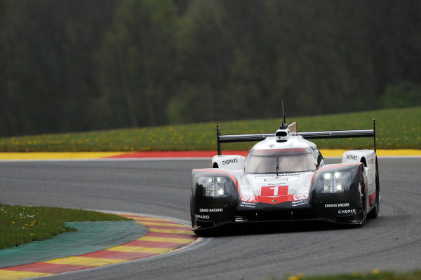 2017 FIA World Endurance Championship. Spa-Francorchamps, Belgium, 4th-6th May 2017. #1 Porsche Team Porsche 919 Hybrid: Neel Jani, Andre Lotterer, Nick Tandy World Copyright: JEP/LAT Images