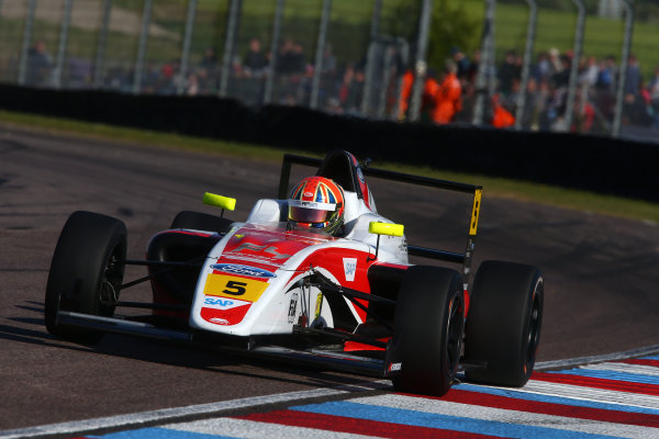 2017 British F4 Championship, Thruxton, 6th-7th May 2017,  Oliver York (GBR) Fortec Motorsports British F4 World copyright. JEP/LAT Images