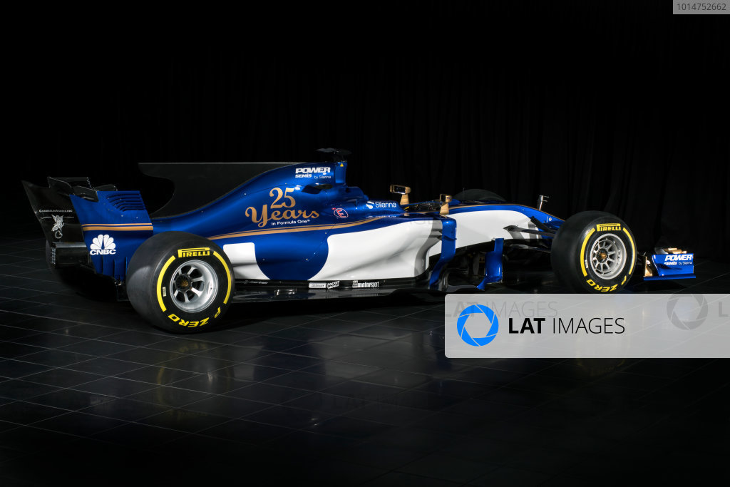 Sauber C36-Ferrari Launch. Monday 20 February 2017. Studio image of the Sauber C36-Ferrari. World Copyright: Sauber F1 Team.
