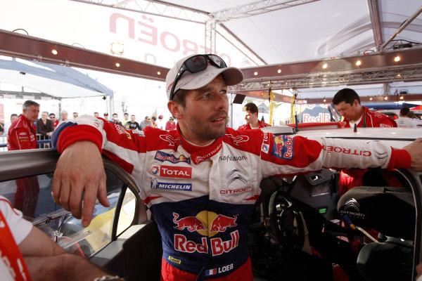 Round 03-Rally Portugal. 23th-27th March 2011.Sebastien Loeb, Citroen WRC, Portrait.Worldwide Copyright: McKlein/LAT