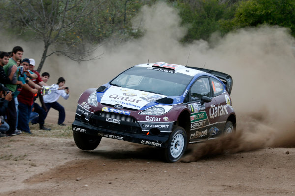2013 World Rally Championship Rally Argentina 1st - 4th May 2013 Mads Ostberg, Ford, action Worldwide Copyright: McKlein/LAT