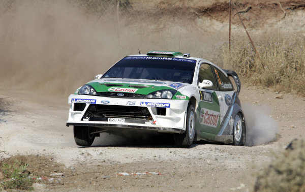 2005 FIA World Rally Champs. Round eightAcropolis Rally 23rd - 26th June 2005 Toni Gardemeister, Ford, Action World Copyright: McKlein/LAT