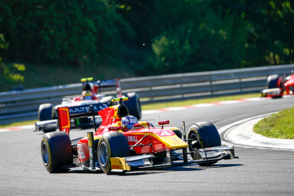 Hungaroring, Budapest, Hungary. Saturday 29 July 2017 Gustav Malja (SWE, Racing Engineering).  Photo: Hone/FIA Formula 2 ref: Digital Image _ONZ9845