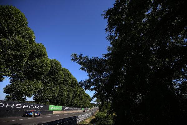 2017 Le Mans 24 Hours Circuit de la Sarthe, Le Mans, France. Saturday 17th June 2017 #90 TF Sport Aston Martin Vantage: Salih Yoluc, Euan Hankey, Rob Bell  World Copyright: JEP/LAT Images