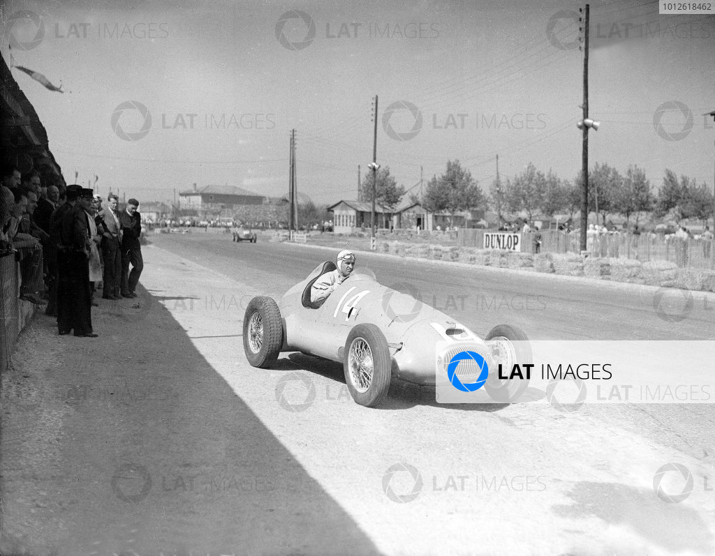 Lyon, France. 21 September 1947.