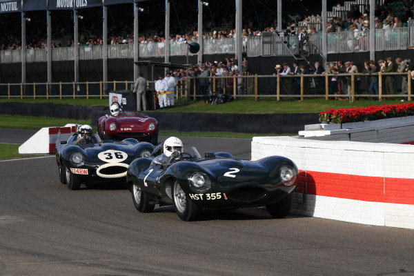 Sussex Trophy John Pearson Jaguar D Type