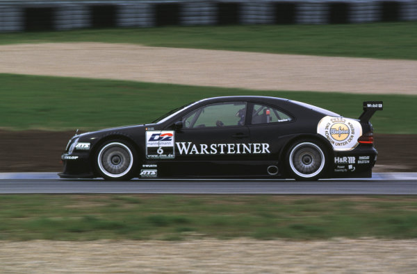2000 DTM testing.Oschersleben, Germany.16 April 2000.Marcel Fassler (Mercedes-Benz CLK).World - Griffiths/LAT Photographic