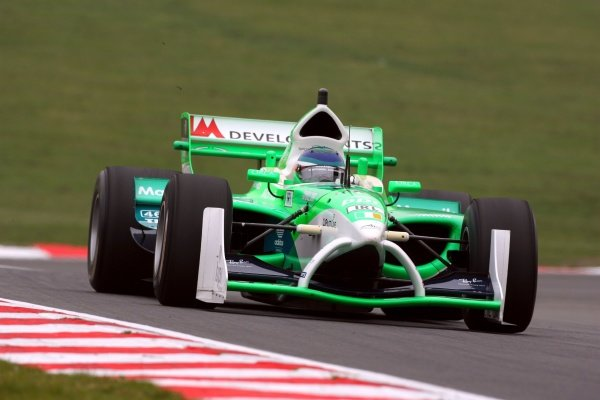 27.04.2007 Fawkham, England,  John O'Hara, Driver of A1Team Ireland - A1GP World Cup of Motorsport 2006/07, Round 11, Brands Hatch, Friday Practice - Copyright A1GP Team Ireland - Copyright free for editorial usage