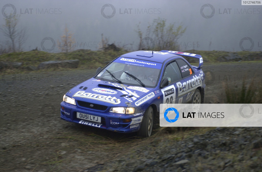 2001 FIA World Rally Championship.