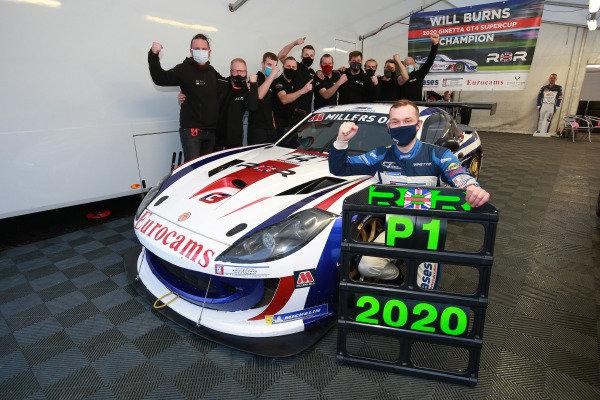 Will Burns - Rob Boston Racing Ginetta G55