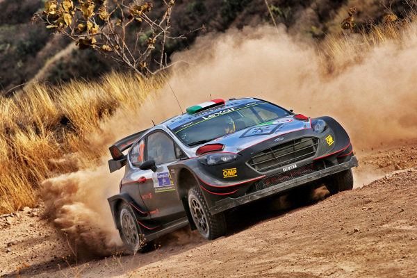Lorenzo Bertelli (ITA) / Simone Scattolin (ITA), M-Sport World Rally Team Ford Fiesta RS WRC at World Rally Championship, Rd3, Rally Mexico, Day One, Leon, Mexico, 10 March 2017.