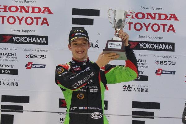 Round 12 winner Sacha Fenestraz, B-Max Racing with Motopark, Dallara F314 Volkswagen