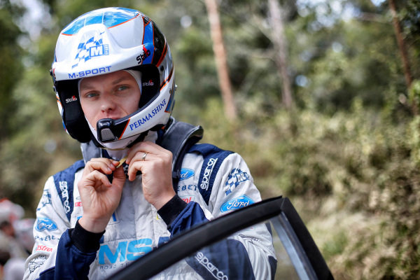 Ott Tanak (EST), M-Sport World Rally Team WRC at World Rally Championship, Rd13, Rally Australia, Preparations and Shakedown, Coffs Harbour, New South Wales, Australia, 16 November 2017.