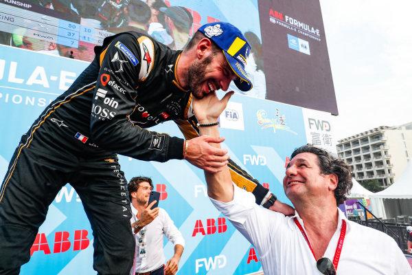 Jean-Eric Vergne (FRA), DS TECHEETAH, 1st position, on the podium