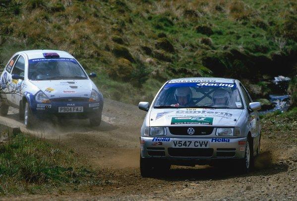 2002 British Rally Championship.Pirelli International Rally, Gateshead, April 26-28 2002.Club drivers mix it with the bigger teams.World Copyright: Griffiths/LAT PhotographicRef: 35 mm original transparency