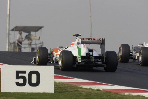 Paul di Resta, Force India VJM04 Mercedes.