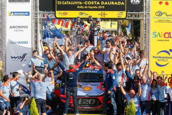 Thierry Neuville (BEL), Nicolas Gilsoul (BEL), Hyundai World Rally Team, Hyundai i20 Coupe WRC 2019