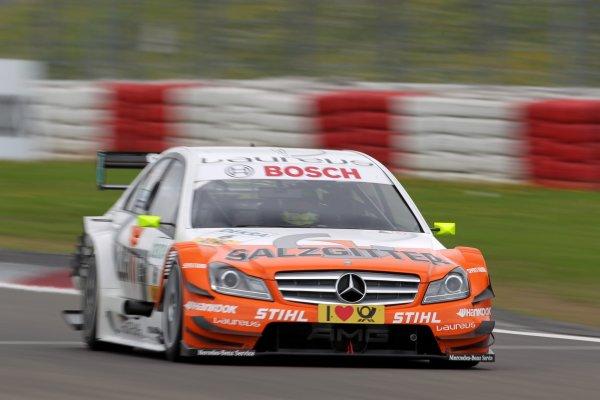 Ralf Schumacher (GER), Salzgitter AMG Mercedes.DTM, Rd6, Nurburgring, Germany, 6-7 August 2011.World Copyright: LAT Photographicref: Digital Image dne1106au30