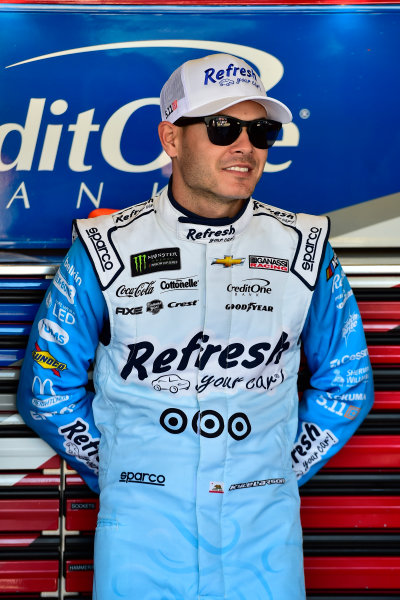 Monster Energy NASCAR Cup Series Can-Am 500 Phoenix Raceway, Avondale, AZ USA Friday 10 November 2017 Kyle Larson, Chip Ganassi Racing, Refresh Your Car! Chevrolet SS World Copyright: Logan Whitton LAT Images