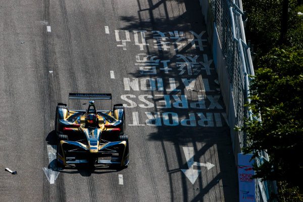 2017/2018 FIA Formula E Championship. Round 1 - Hong Kong, China. Saturday 02 December 2017. Jean Eric Vergne (FRA), TECHEETAH, Renault Z.E. 17. Photo: Alastair Staley/LAT/Formula E ref: Digital Image _ALS5903