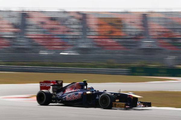 Korea International Circuit, Yeongam-Gun, South Korea. Saturday 5th October 2013. Daniel Ricciardo, Toro Rosso STR8 Ferrari. World Copyright: Steven Tee/LAT Photographic. ref: Digital Image _14P6826