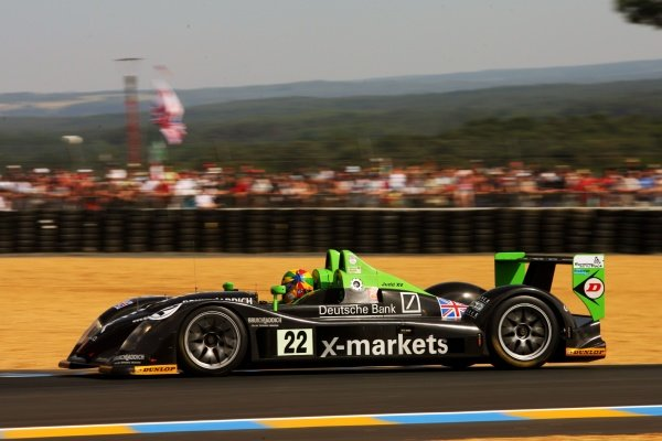 Martin Short (GBR) / Joao Barbosa (POR) / Stuart Moseley (GBR) Rollcentre Racing Radical SR9 Judd. 