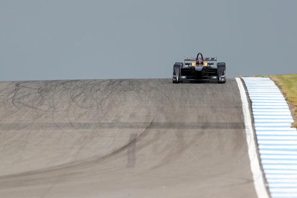 FIA Formula E Test Day, Donington Park, UK.  3rd - 4th July 2014.  Jarno Trulli, Trulli GP. Photo: Zak Mauger/FIA Formula E ref: Digital Image _L0U4904