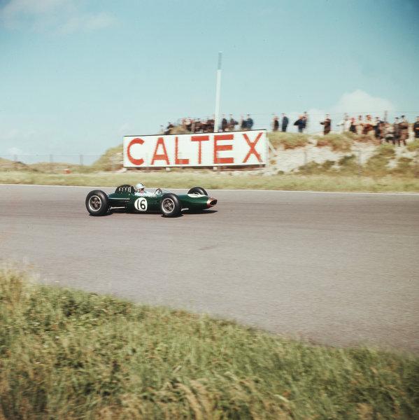 Zandvoort, Holland.21-23 May 1963.Jack Brabham (Brabham BT7 Climax).Ref-3/0961A.World Copyright - LAT Photographic