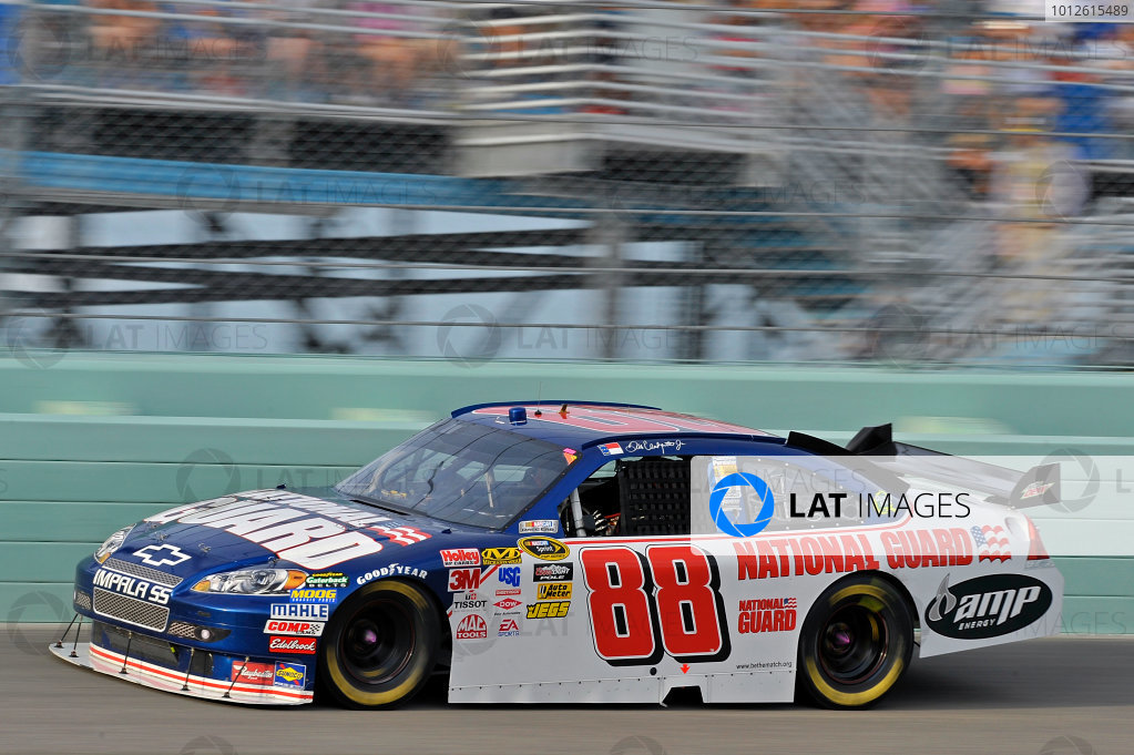 20-22 November, 2009, Homestead, Florida, USADale Earnhardt Jr car.©2009, LAT South, USALAT Photographic