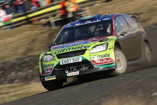 Round 15, Wales Rally GB, 4th-7th December 2008 Jari Matti Latvala, Ford, Action Worldwide Copyright: McKlein/LAT