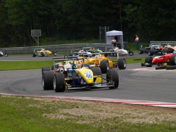 Harald Schlegelmilch (LAT) HS Technik Motorsport in race 2.Recaro Formel 3 Cup, Rd9, Salzburgring, Austria, 16-17 September 2006.DIGITAL IMAGE