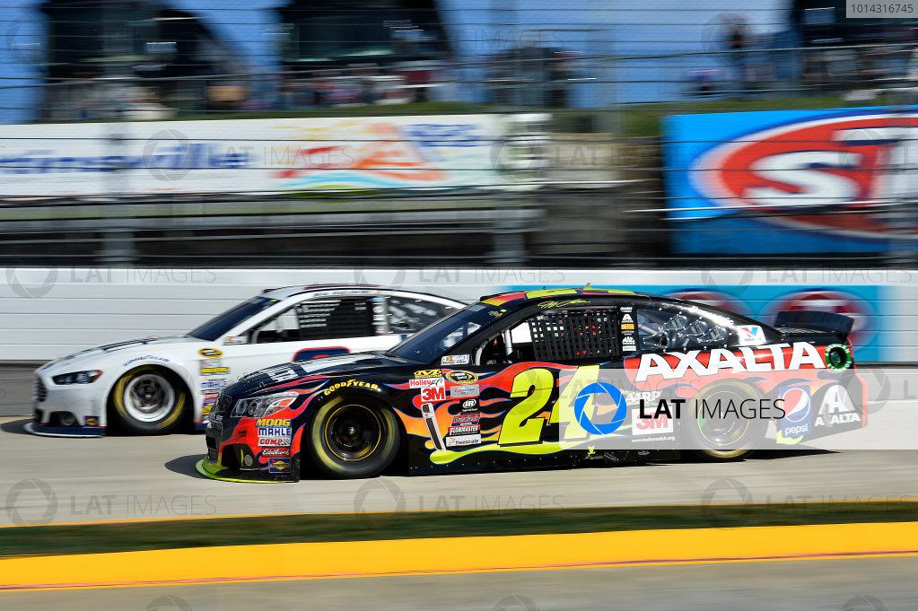 27-29 March, 2015, Martinsville, Virginia USA Brad Keselowski, Jeff Gordon  ?2015, John Harrelson / LAT Photo USA