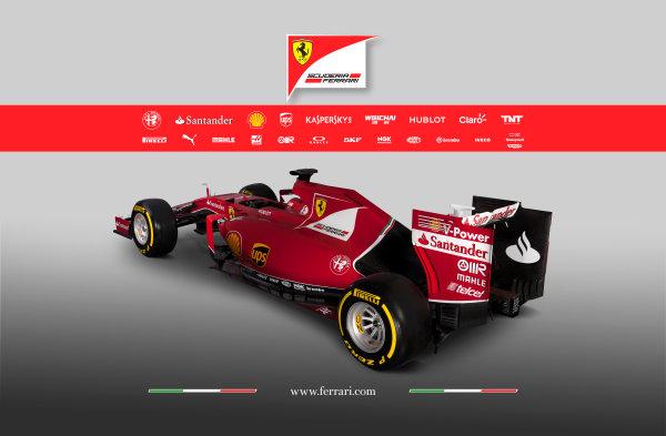Ferrari SF-15T Reveal 30 January 2015 The new Ferrari SF-15T. Photo: Ferrari (Copyright Free FOR EDITORIAL USE ONLY) ref: Digital Image 150012eve