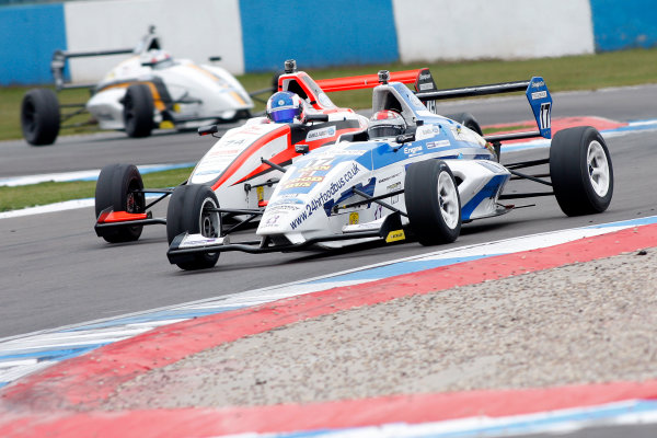 2013 MSA Formula Ford Championship of Great Britain. Donington Park, Leicestershire. 20th - 21st April 2013. George Blundell (GBR) Enigma Motorsport Formula Ford 200. World Copyright: Ebrey / LAT Photographic.