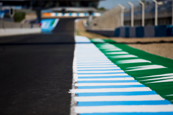 2017 FIA Formula 2 Round 10. Circuito de Jerez, Jerez, Spain. Thursday 5 October 2017. A view of the track. Photo: Zak Mauger/FIA Formula 2. ref: Digital Image _X0W9405