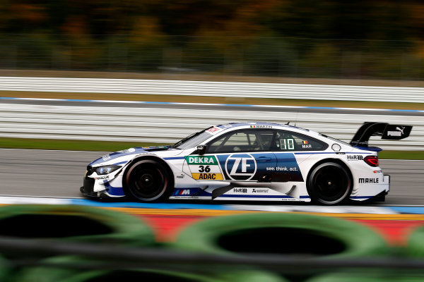 2017 DTM Round 9  Hockenheimring, Germany  Friday 13 October 2017. Maxime Martin, BMW Team RBM, BMW M4 DTM  World Copyright: Alexander Trienitz/LAT Images ref: Digital Image 2017-DTM-HH2-AT2-0335
