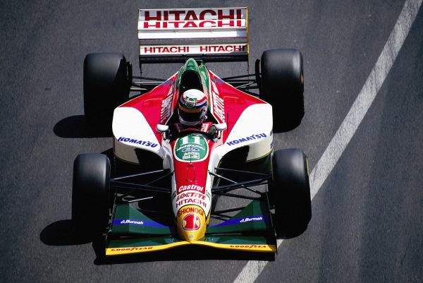 Alessandro Zanardi, Lotus 107B Ford.